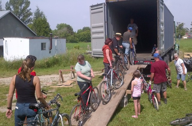 Canadians Donating Bikes To Africa Cycle Recycle Canada