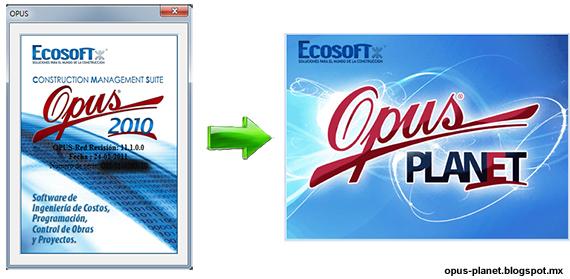 Importar una obra OPUS 2010 a Opus Planet 2011