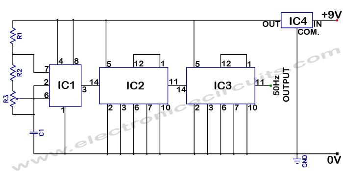 electronics projects digital clock using lm8560