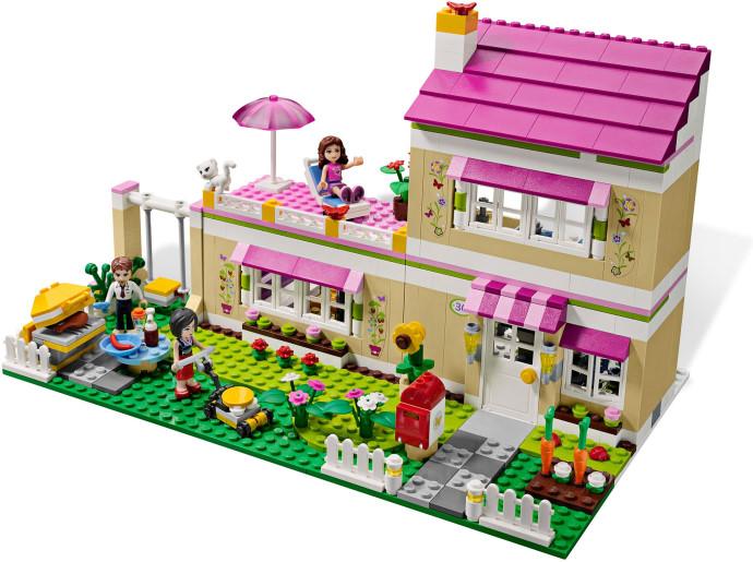 brick friends lego friends 3315 olivia s house. Black Bedroom Furniture Sets. Home Design Ideas