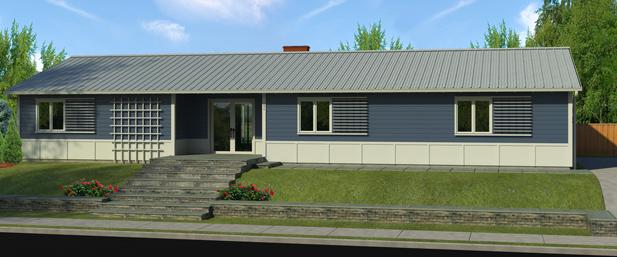 Rectangular Ranch House Plans