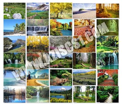 Background Pemandangan  Alam Terlengkap