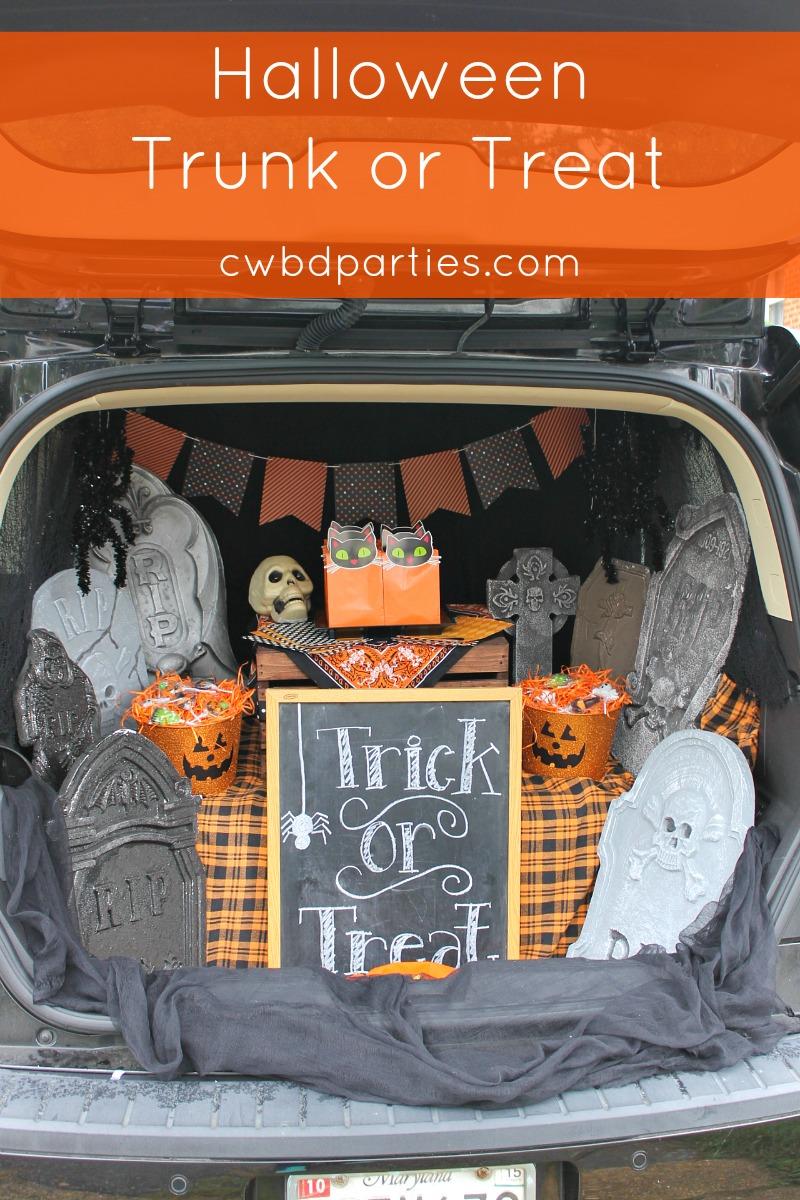 tombstone chalkboard pumpkin banner