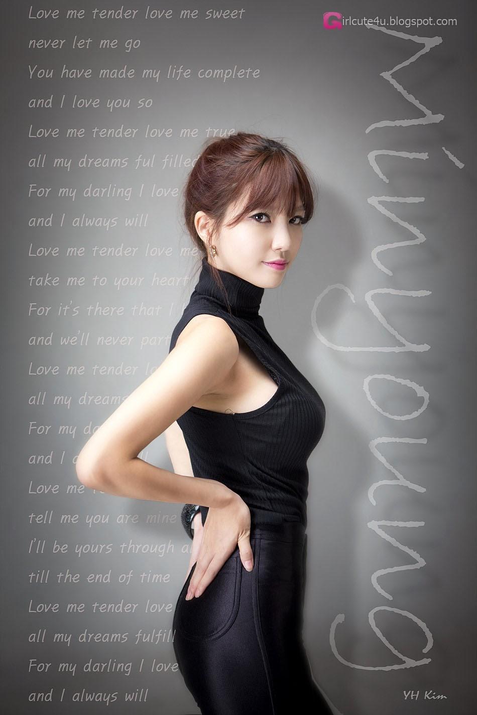 5 Han Min Young - Black lady - very cute asian girl-girlcute4u.blogspot.com