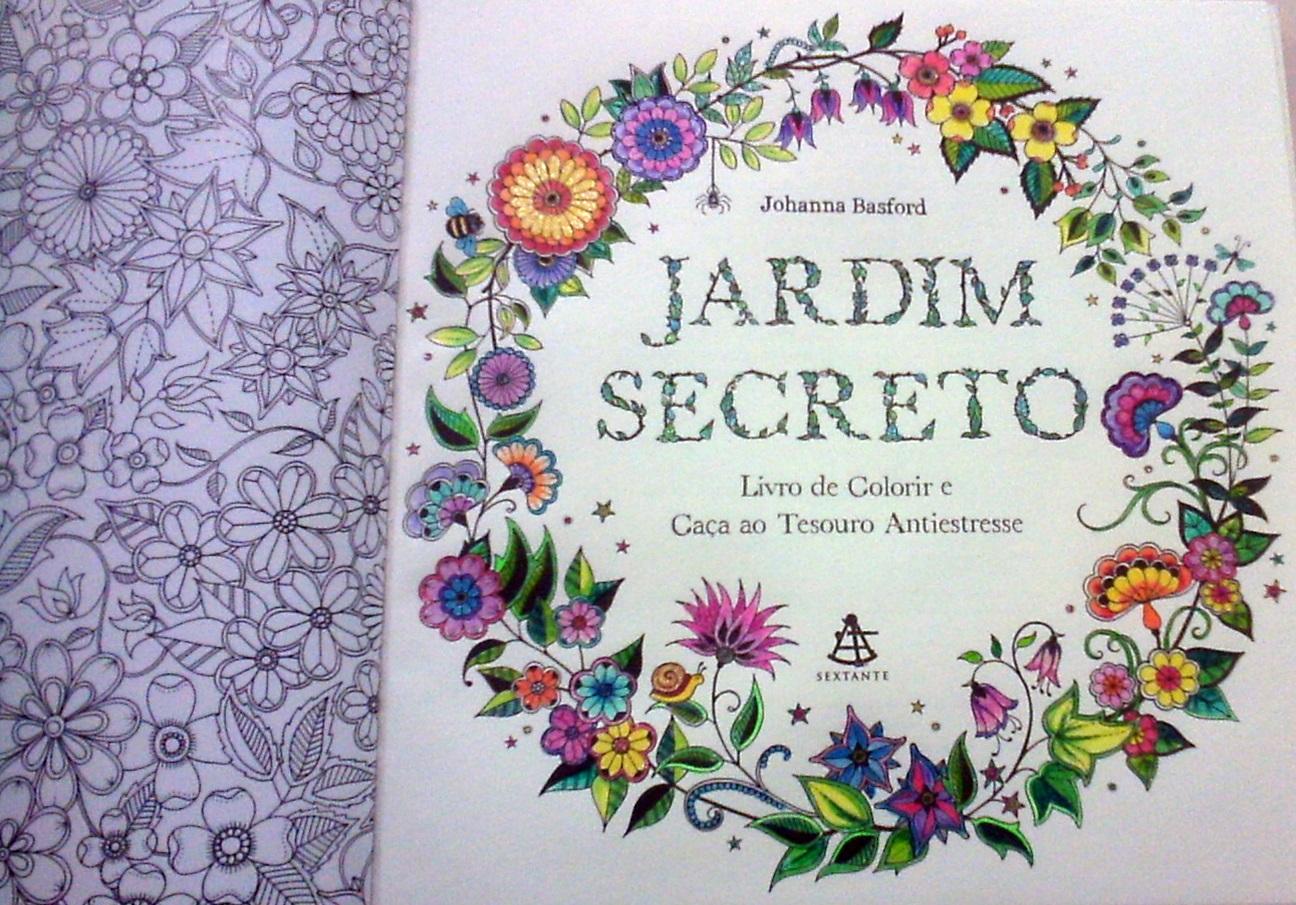Arte Terapia Anti Stress Jardins 100 Imagens Para Colorir  - imagens para colorir jardim