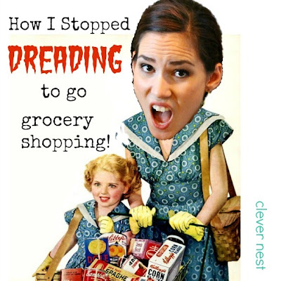 how i stopped hating to grocery shop (and stopped making disgusting dinners) funny #coupon