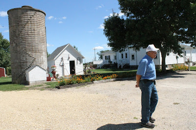 Agri-Tourism in Iowa - Showcasing Iowa's Agriculture Legacy at Tyden Farm No. 6 - some of the first farms in North Iowa to use cement