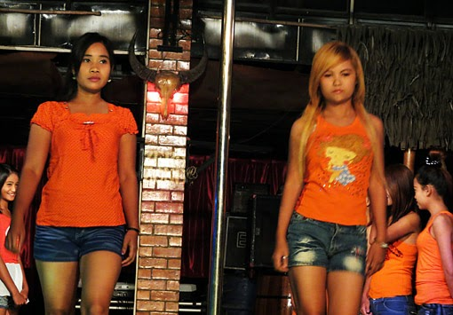 Catwalk in Yangon Chinatown