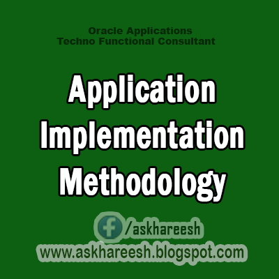 AIM : Application Implementation Methodology