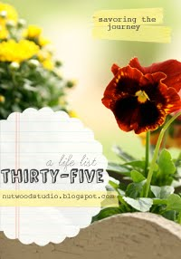 thirty-five :: a life list