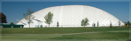 green garden golf dome delayed again by what else more snow southland savvy