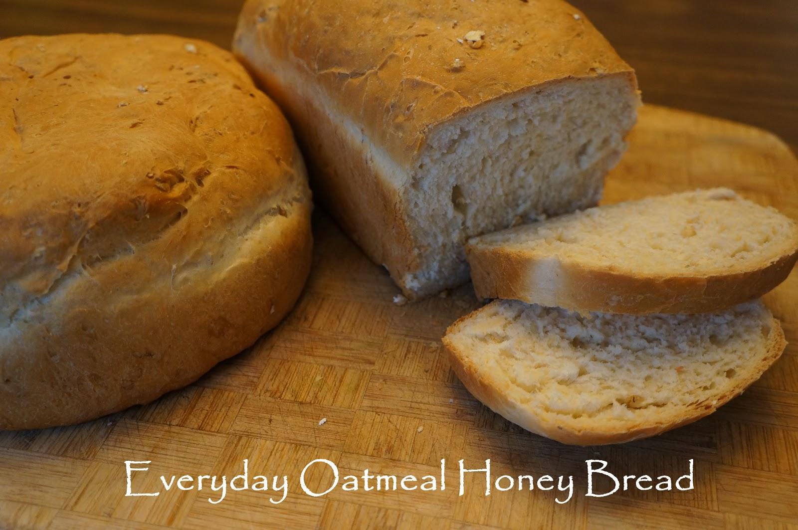 The Backyard Farming Connection: Everyday Oatmeal Honey Bread