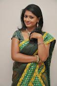 glamorous Anu Sri saree photos-thumbnail-5