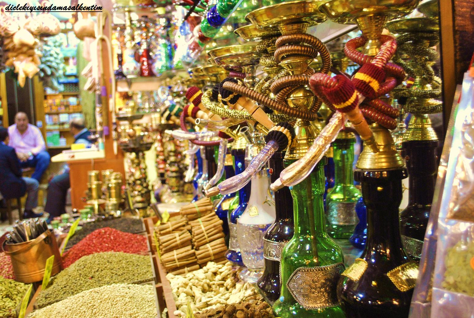 History of Turkey: Spice Bazaar, Mısır Çarşısı, or Egyptian Bazaar
