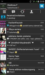 BBM Mod (by : Dio Dimas) Flat Style Mini v2.8.0.21 Apk Android