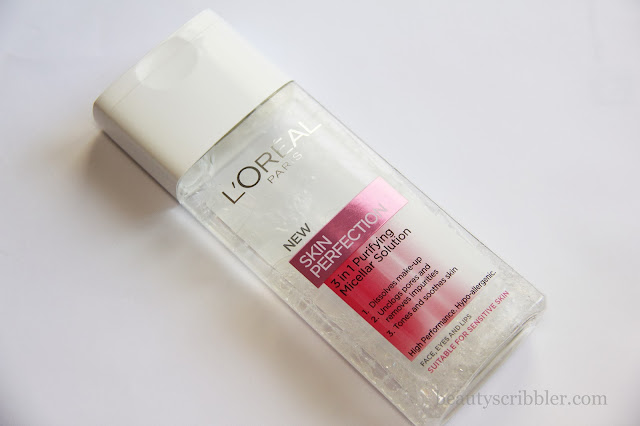L'Oréal Skin Perfection 3 in 1 Purifying Micellar Solution