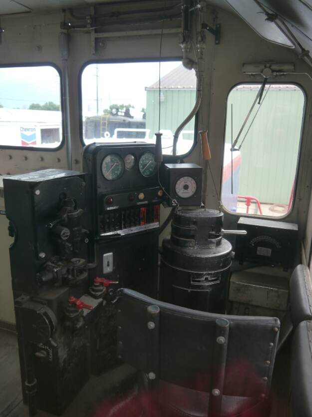 GP7 engineer's controls