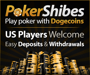 Play Poker with Dogecoin