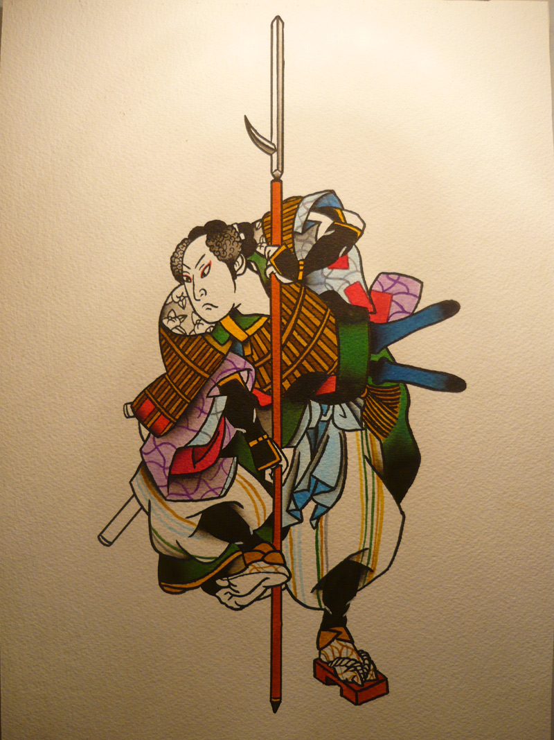 Traditional Japanese Samurai Tattoos