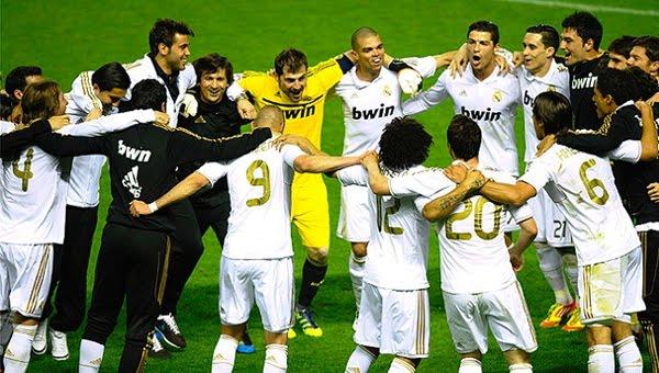 Real Madrid Campeón de Liga 2012