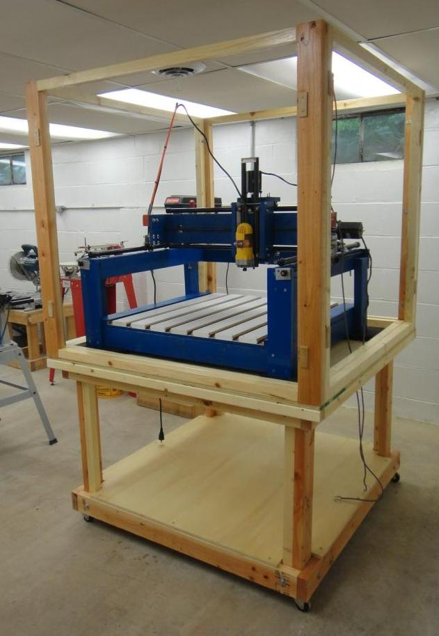 the tinkers workshop the cnc machine is coming together