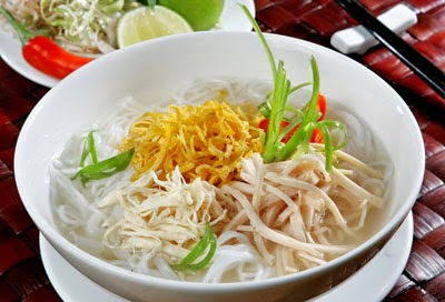 Hanoi Chicken Vermicelli Soup