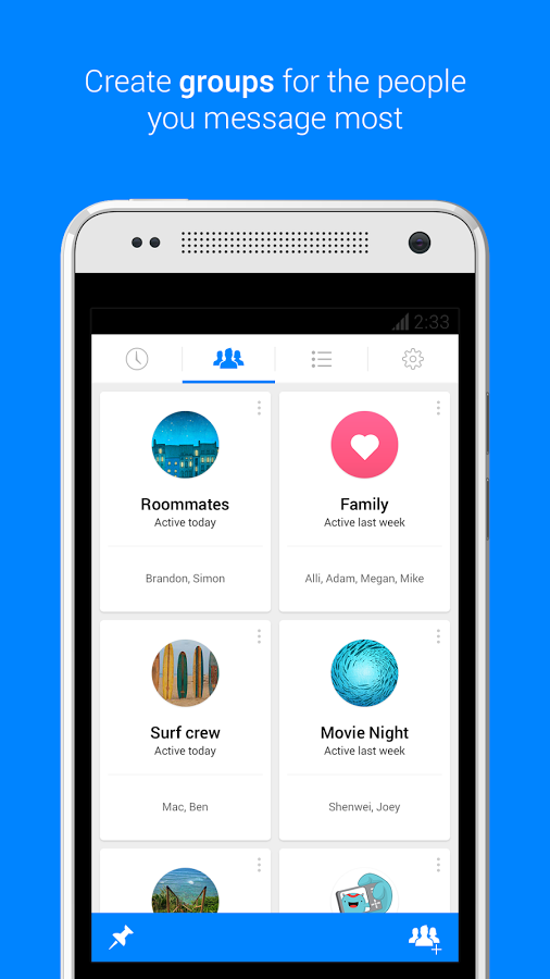 Facebook Messenger Android Apk resimi 1