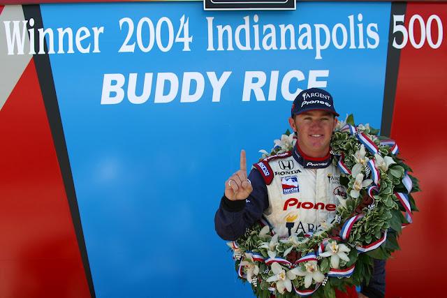 Indy 500, Buddy Rice, Honda, IndyCar, Pioneer, Argent