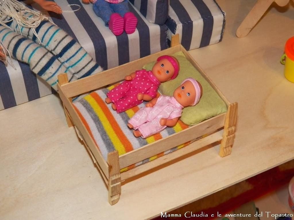 Mamma claudia e le avventure del topastro letto per barbie o ken e lettino per le bimbe - Letto barbie prezzo ...