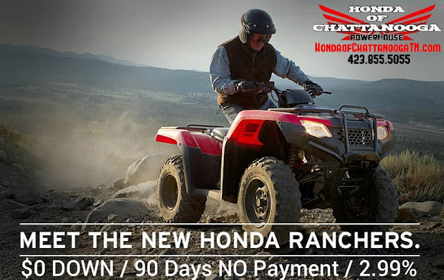 2014 420 Rancher TRX420 SALE Honda of Chattanooga southern TN Honda PowerSports Dealer