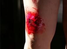 Maquiagem ferimento