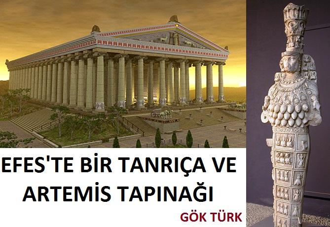 Efes'te Bir Tanrıça ve Artemis Tapınağı