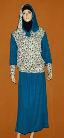 Gamis Bahan Kaos Gkm4490 Grosir Baju Muslim Murah Tanah