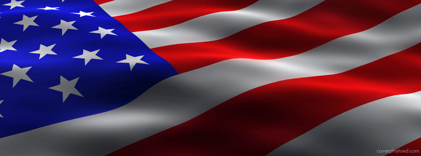 American Flag Memorial Day Facebook Cover