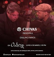 Jazz en O.Livia presenta este Lunes 6 de Marzo a partir de las 7:30PM
