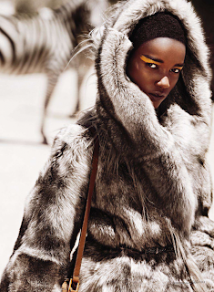 Herieth Paul pour Elle September 2011