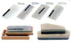 con piedras especiales también es posible afilar las herramientas