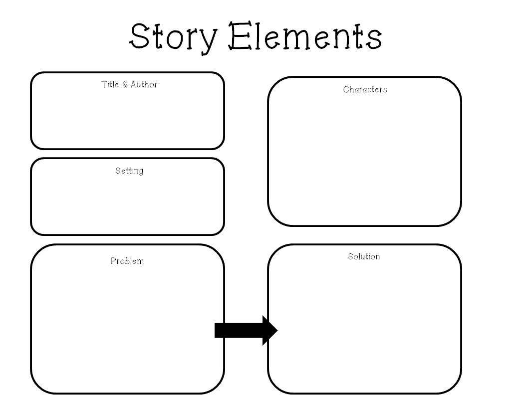 Worksheets Story Elements Worksheets elements of a story worksheet 17 best ideas about activities on pinterest