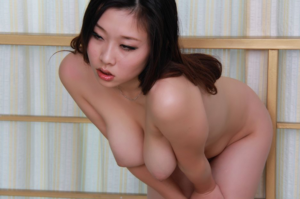 Asian big tits abused