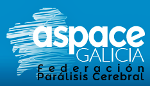 ASPACE Galicia: Logo y enlace al sitio web