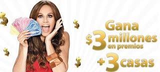 concurso mac familia millonaria herdez McCormick Tv azteca gana premios 3 millones de pesos casas geo Mexico 2013