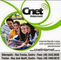 CNET INTERNET VIA RÁDIO