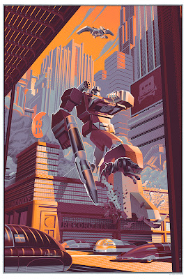 "Wizard World Philadelphia Comic Con 2013 Exclusive Transformers ""Soundwave"" Variant Screen Print by Laurent Durieux"