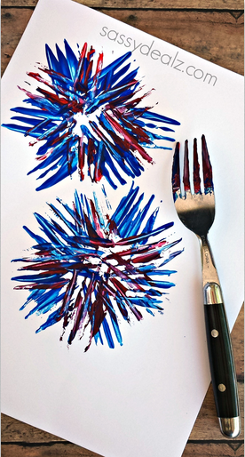 http://www.sassydealz.com/2014/05/kids-fireworks-craft-using-fork.html