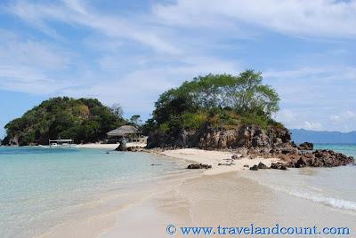 Bulog Island and Sand Bar