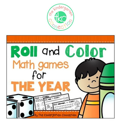 https://www.teacherspayteachers.com/Product/Roll-and-Color-Math-Games-for-the-Year-2034956