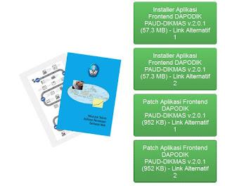 Aplikasi Dapodik PAUD-DIKMAS Versi 2.0.1
