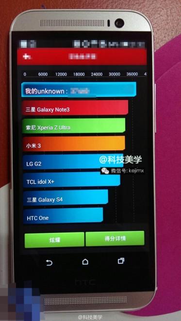Il prossimo smartphone Htc One Plus ha prestazioni più elevate di Galaxy Note 3