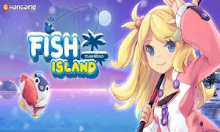 Screenshots of the Fish Island for Android tablet, phone.