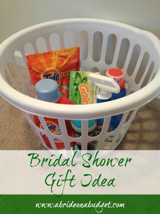 bridal shower gift idea a bride on a budget